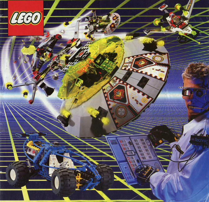 1997 Main Lego Catalogue 3 Printed Lego Catalogues