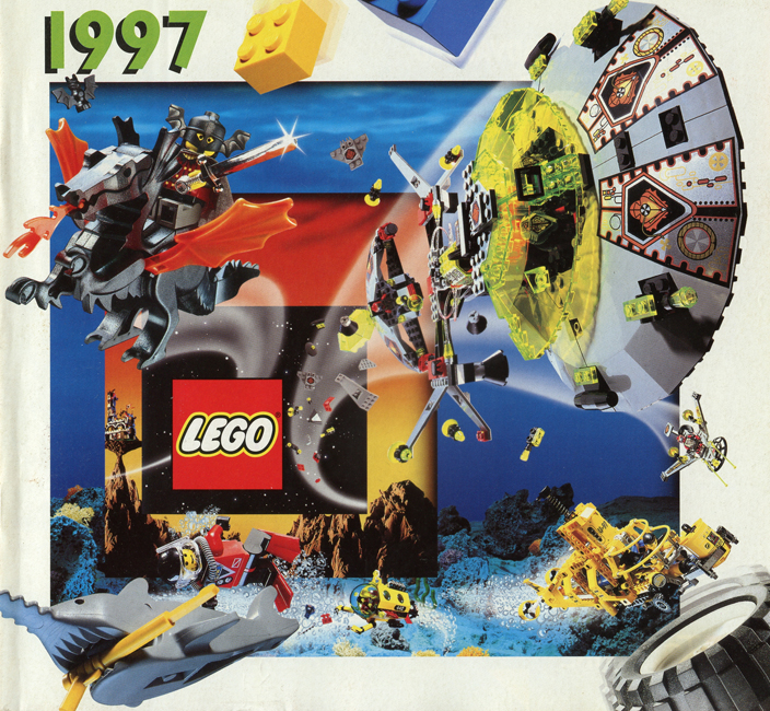 1997 Main Lego Catalogue 2 Printed Lego Catalogues