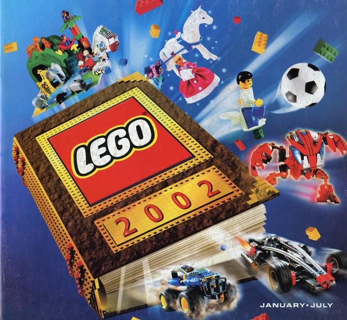 2002 Main Lego Catalogue | Printed Lego Catalogues