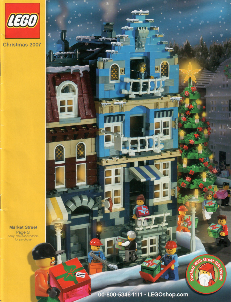 2007 shop at home 5 printed lego catalogues Shop at home