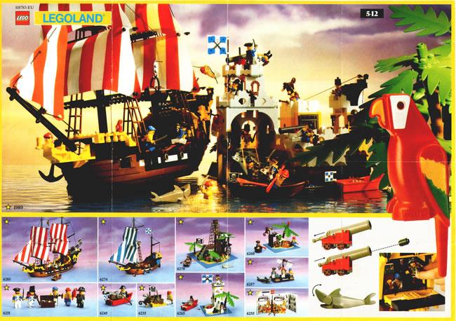 1989 Sheet Lego Catalogue 2 | Printed Lego Catalogues