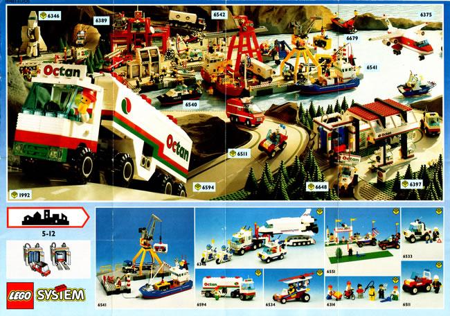 1992 Sheet Lego Catalogue | Printed Lego Catalogues