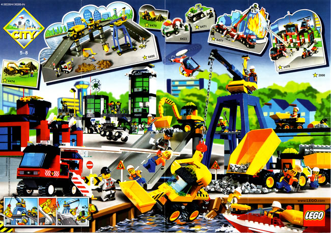 British Lego Catalogue Cover Scans Library Part 10